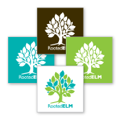 RootedELM Stickers