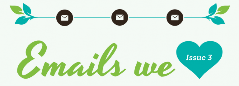 Emails We Love: Visual Impact