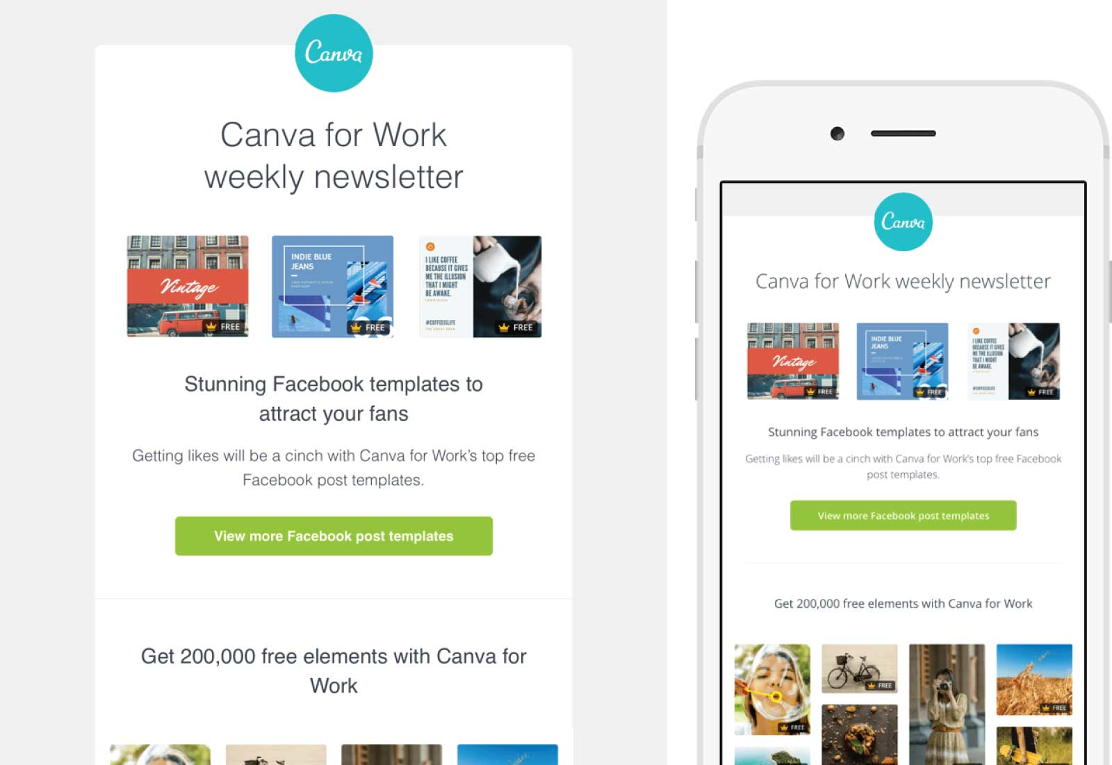 Canva Email