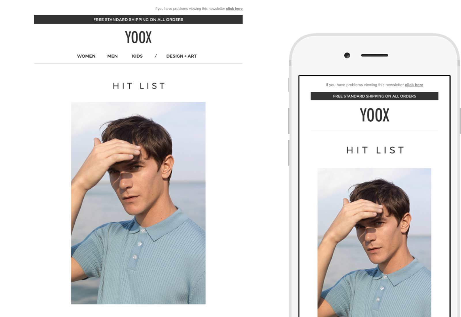 YOOX Email