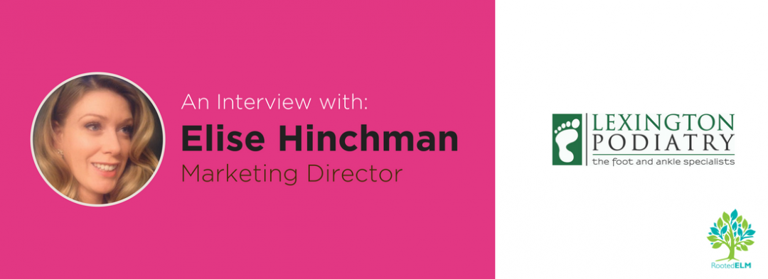 An Interview with Elise Hinchman, Marketing Director