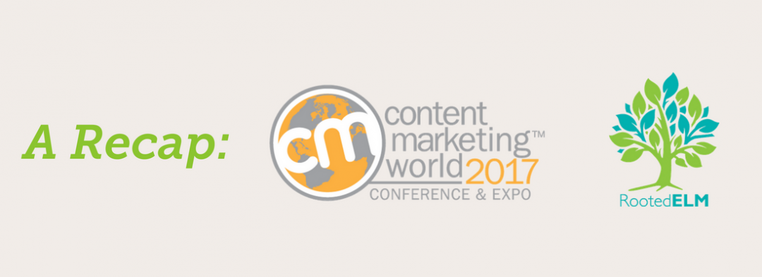 Taking Content to the next level #CMWorld